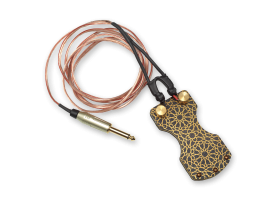 Brass Footswitch with Clipcord - Nazari Pattern