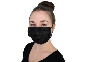 Nitras Disposable 4-ply Black Mask