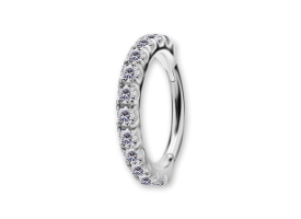 NF CoCr Big Jewelled Hinged Ring