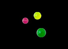 Acrylic Clip in Ball