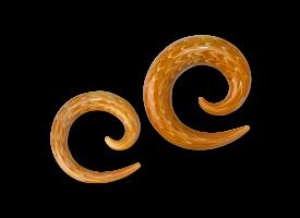 Pyrex Exotic Silver Spiral