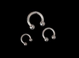 Titanium Circular Barbell