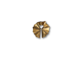 Polished Bronze Ear Weight - style 1