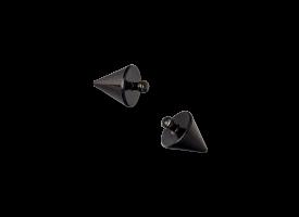 PVD Black Titanium Int. Thr Attachment - Cone