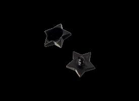 PVD Black Titanium Int. Thr Attachment - Star