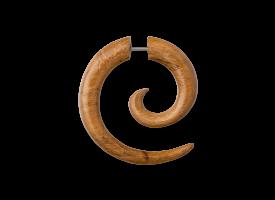 Teak Wood Fake Spiral