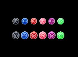 Acrylic Spiral Ball