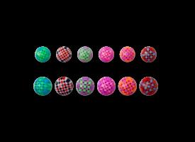 Acrylic Psychadelic Ball