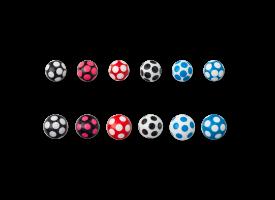 Acrylic Dot Ball