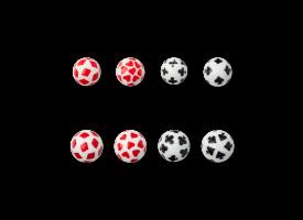 Acrylic Aces Ball