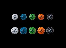 Acrylic Screw on BasketBall