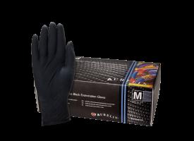 Aurelia Bold Black Nitril Gloves