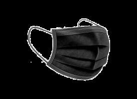 Masque Buccal Jetable Comfort Noir