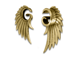 Brass Angel Wing Plug