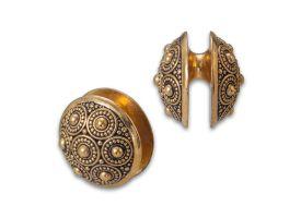 Brass Ear Weight - Style 7