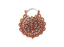 Copper Hoop Earring - style 28