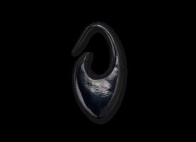 Horn Hook Earring - style 3
