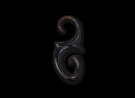 Horn Hook Earring - style 9