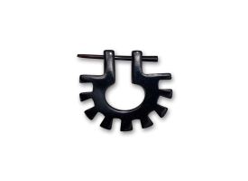 Horn Tribal Pin  - style 8