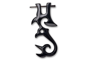 Horn Tribal Pin  - style 9