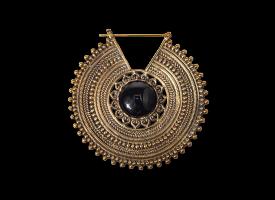 Brass Hoop Earring - style 60
