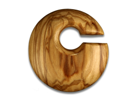 Olive Wood Large Round Weight