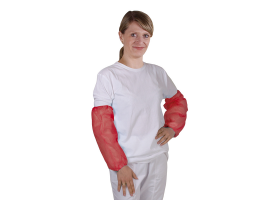 PE-Protective Sleeves Red
