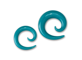 Pyrex Aqua Spiral