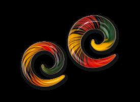 Pyrex Rasta Spiral