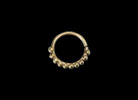 Brass Septum Ring - style 18