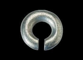 White Brass Circle Weight
