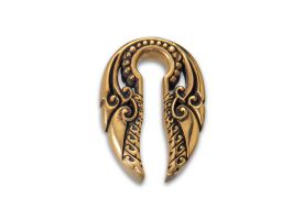 Brass Ear Weight - Style 10