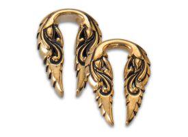 Brass Ear Weight - Style 11