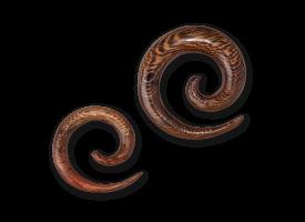 Parasite Wood Spiral