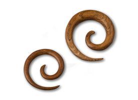 Teak Wood Spiral